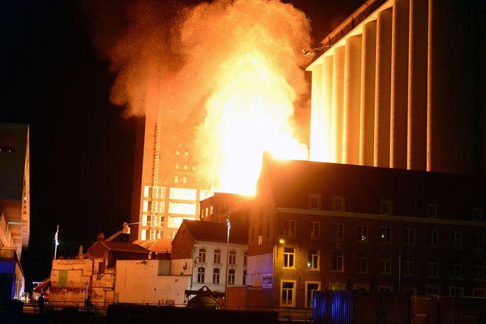De brand in de Molens van Orshoven in 2016 was een echt inferno.
