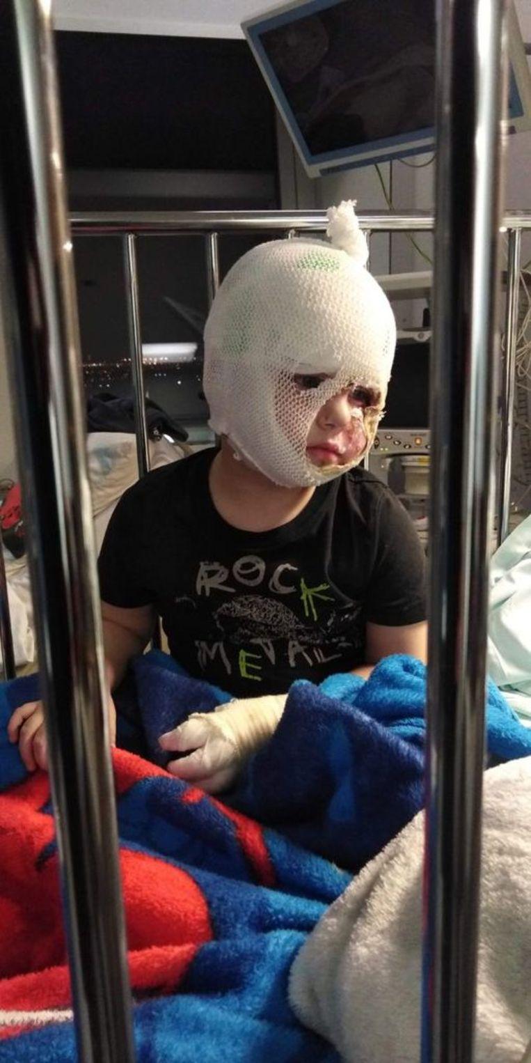 Diego ligt nog steeds in het ziekenhuis na het incident in de refter in Blankenberge.