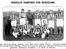 Een eeuw geleden kwam de kampioenscoach naar Heracles