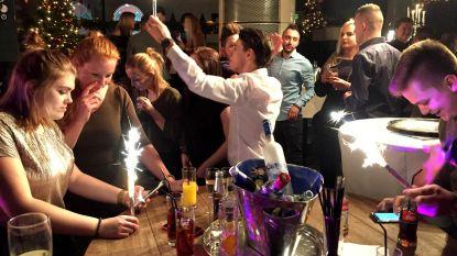 Laatste nieuwjaarsfeest in La Rocca