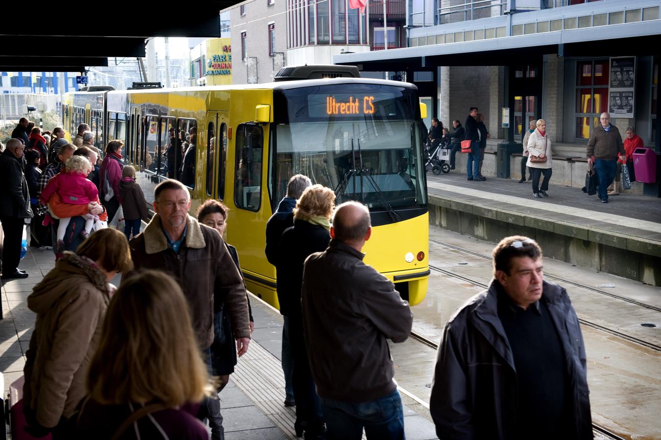 De tram tussen Utrecht en Nieuwegein en IJsselstein rijdt voorlopig niet.
