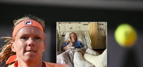 Kiki Bertens mist Australian Open na operatie aan achillespees
