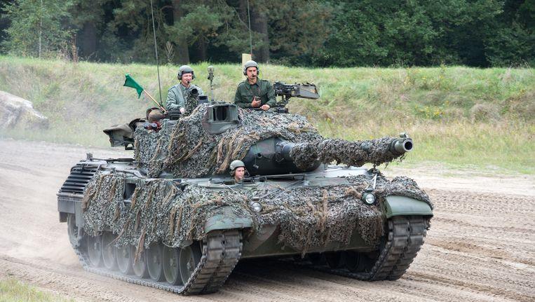 Leopard tank. Beeld BELGA