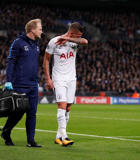 Tottenham Hotspur moet Alderweireld langer missen