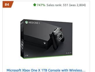 Naam nieuwe generatie Xbox-console zorgt voor verwarring op Amazon: verkoop voorganger schiet omhoog