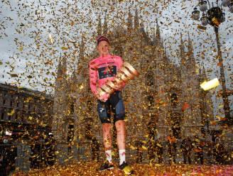 """Geoghegan Hart na eindwinst in Giro: """"Dit had ik in mijn wildste dromen niet voor mogelijk gehouden"""""""