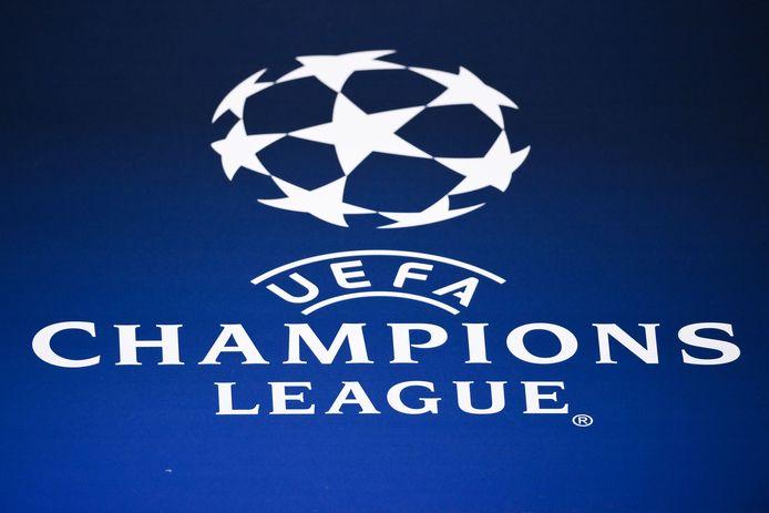 Logo van de Champions League.
