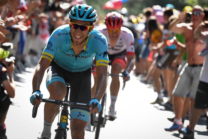 De Spanjaard Omar Fraile (Astana) was de sterkste in etappe 14 naar Mende.