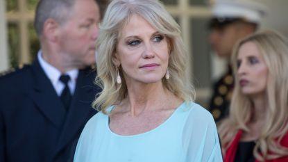 Kellyanne Conway, de vrouw die zo trouw aan Trump is dat het soms pijnlijk wordt