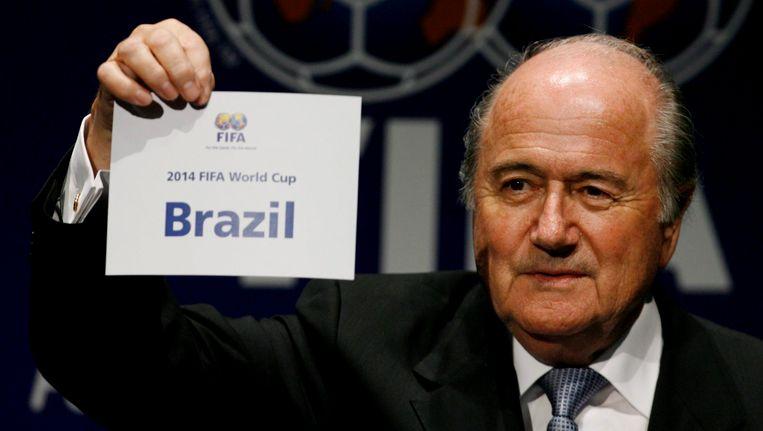 Sepp Blatter. Beeld EPA