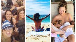 SHOWBITS. Kat Kerkhofs viert op Rock Werchter, Tatyana Beloy topless op vakantie en Chrissy Teigen geeft borstvoeding