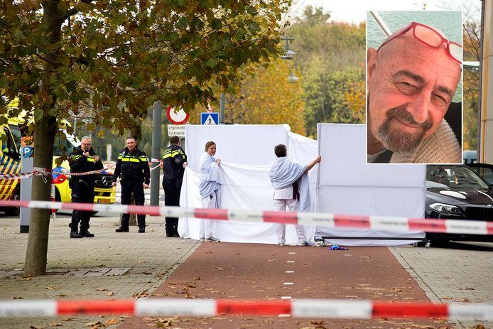 Bertus Bloos overleed voor de deur van het ziekenhuis aan zijn verwondingen.