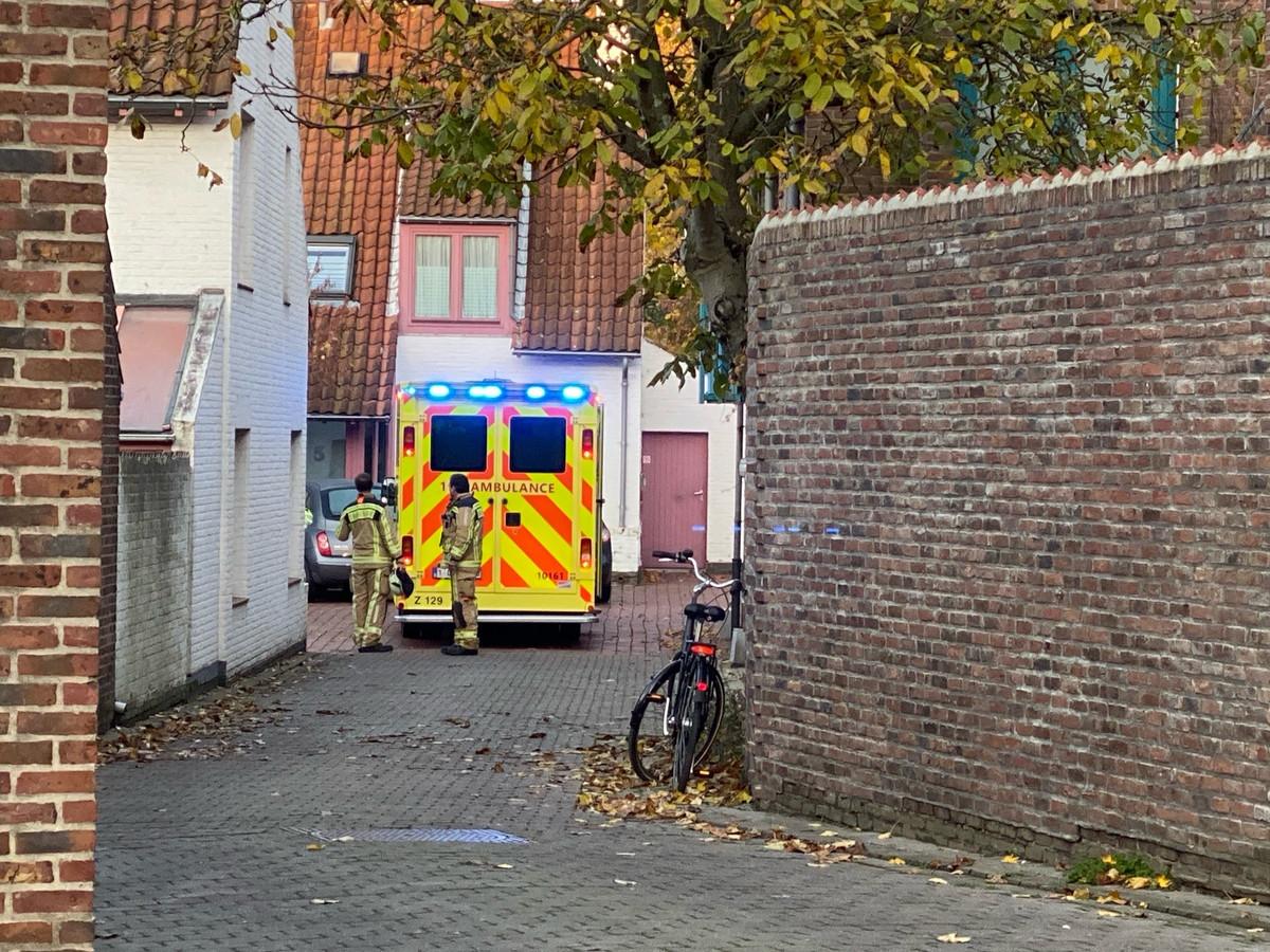 De hulpdiensten snelden ter plaatse naar de Sint-Brunostraat