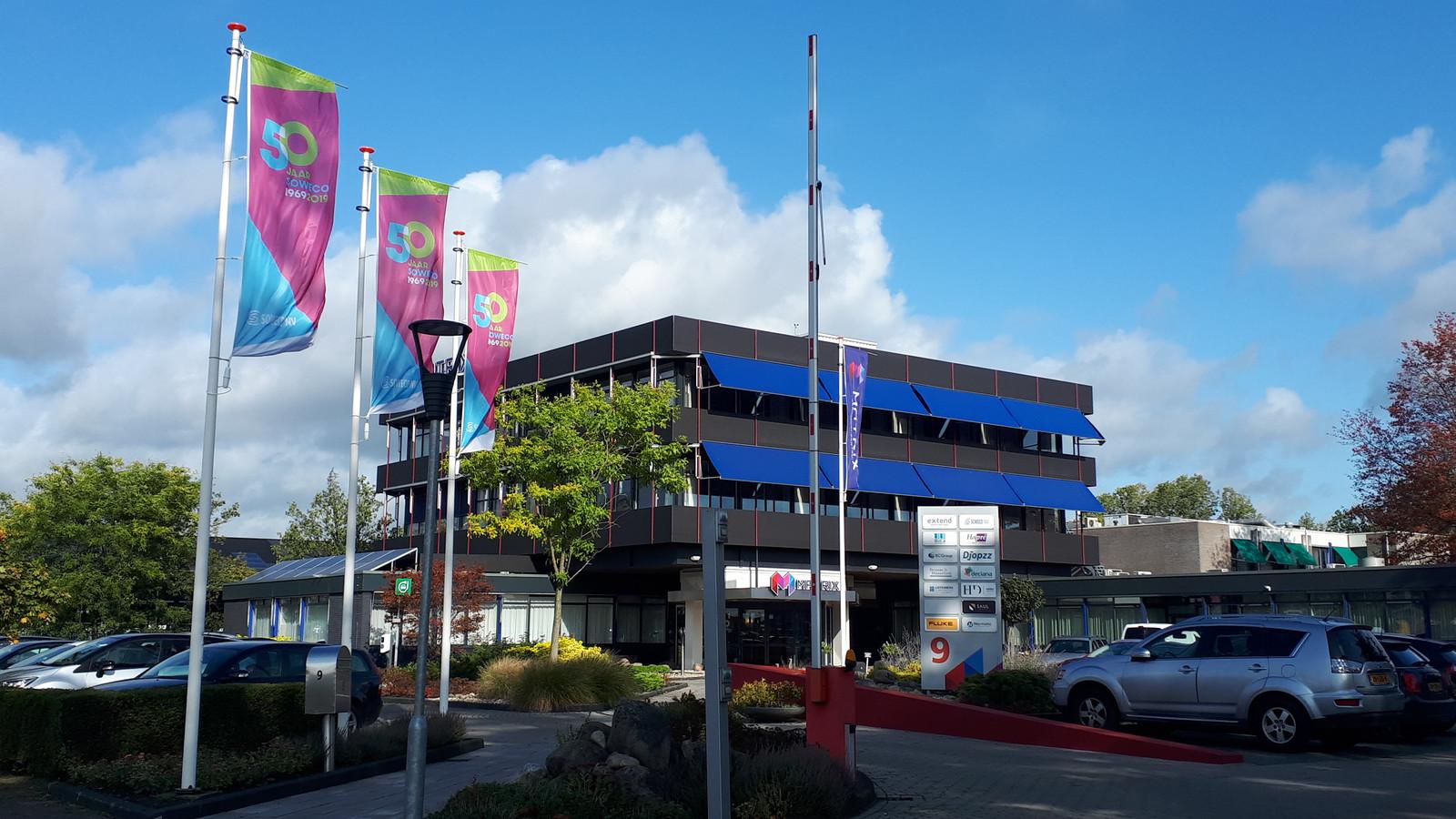 Het hoofdkantoor van Soweco aan de Plesmanweg in Almelo