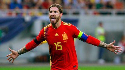 De sombrero af voor Sergio Ramos: recordhouder van Spanje met 168 caps