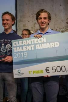 Joep en Flip van Isendoorn College Warnsveld winnen Cleantech Talent Award