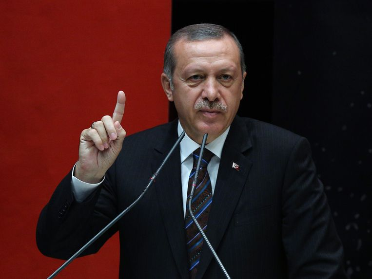 Tayyip Recep Erdogan Beeld ap