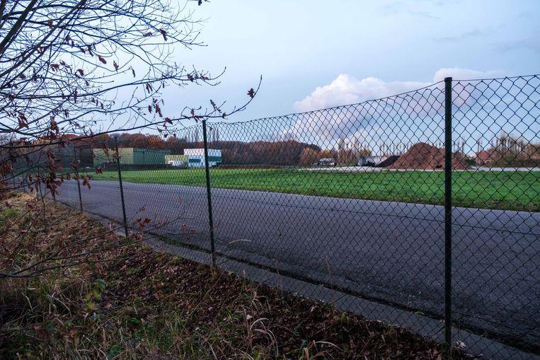 De IGEAN-afvalverwerkingsterreinen aan de Doornstraat in Edegem.