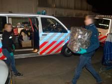 Vijf man aangehouden na drugsinval in Terneuzen
