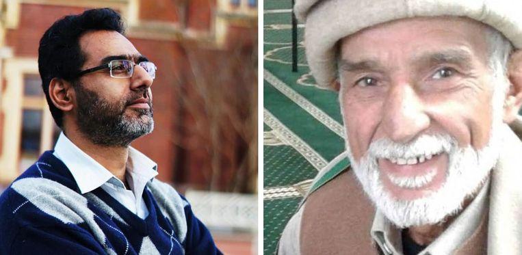 Naeem Rashid probeerde het geweer van de terrorist af te nemen, Haji Daoud Nabi offerde zijn eigen leven op.