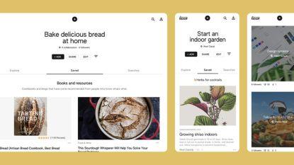 Google lanceert Pinterest-concurrent Keen met artificiële intelligentie