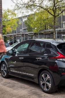 Elektrische auto voorziet woonwijk van groene stroom