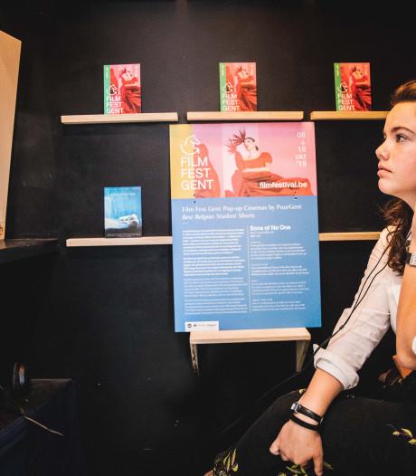 """Film Fest opent 'pop-upcinema's' in Gentse handelszaken: """"Shoppen én genieten van kortfilm'"""