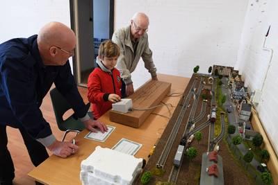 Open huis bij treintjesclubs in Etten-Leur: 'Oude stations nabouwen'