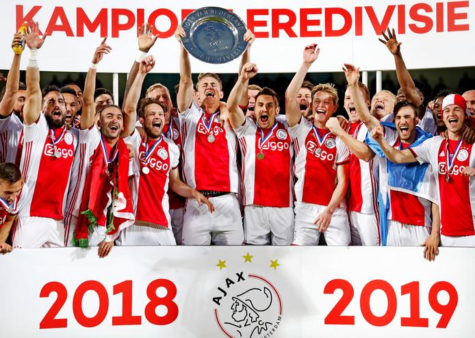 2018/2019: Ajax moest als kampioen nog beginnen in de voorronde van de Champions League.