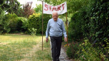 Rotselaarse huisdokter (103) haalt wereldpers met marathon tegen corona