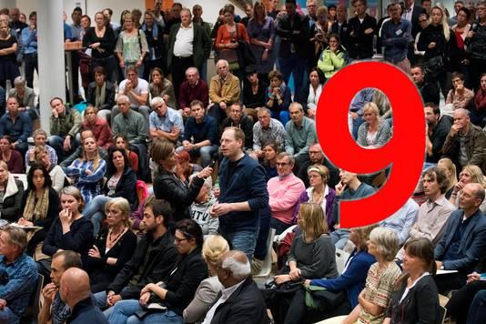 Informatieavond voor bewoners Nijmegen over vluchtelingen op Heumensoord.