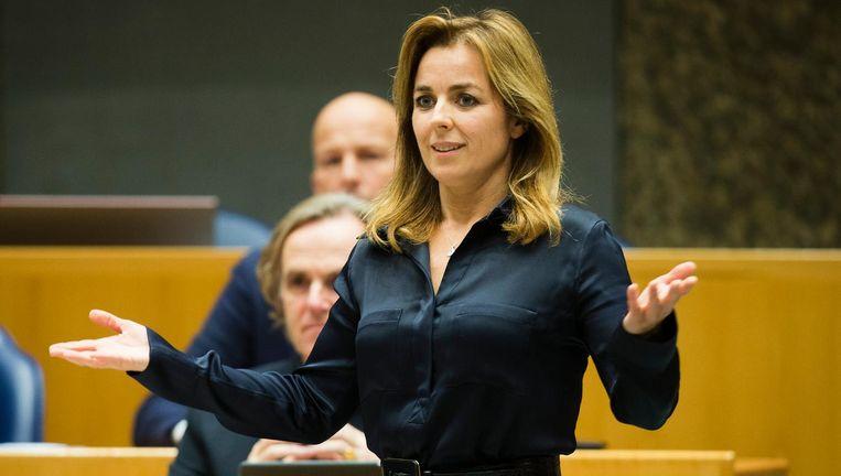 Marianne Thieme van de Partij van de Dieren in de Tweede Kamer. Beeld anp
