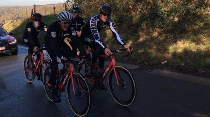 """Van Avermaet ging vandaag de Omloop al verkennen: """"Nieuw parcours is een ode aan de oude Ronde van Vlaanderen"""""""
