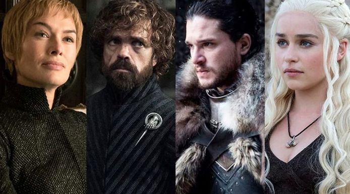 "Les acteurs de ""Game Of Thrones""."