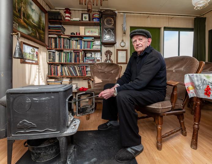 De 100-jarige Harm Timmerman uit Staphorst.