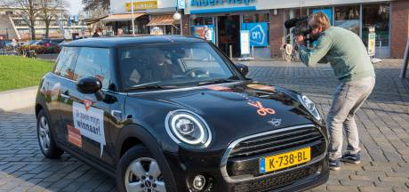 Van wie is de halve Mini?
