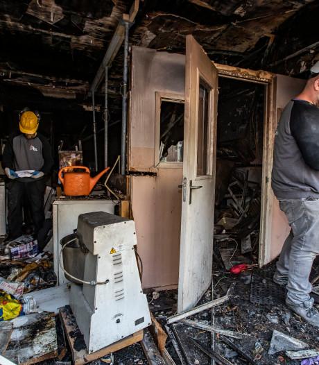 Uitgebrande woningen Molenstraat worden drie appartementen