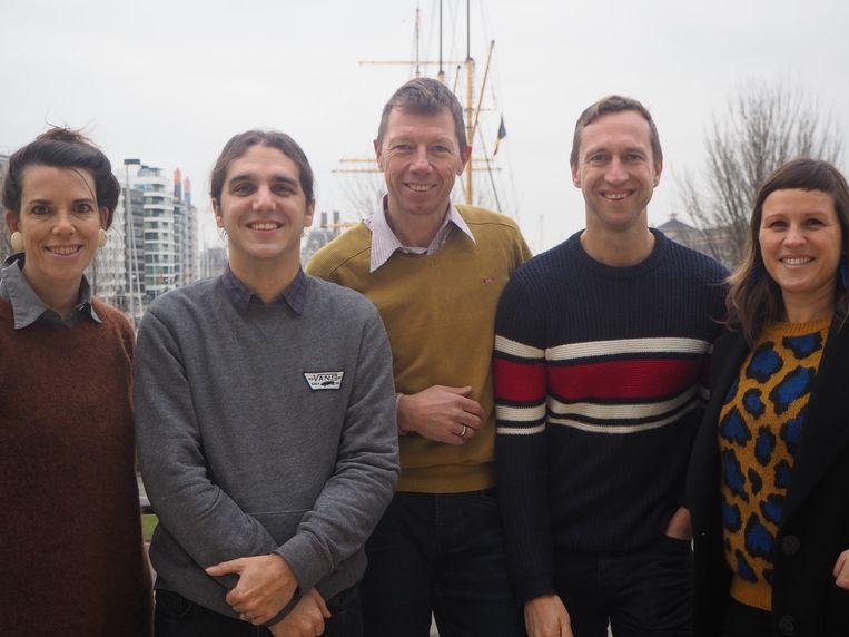 Silke Beirens, Nicolas Brackx, Lucas Vandendriessche, Benoit De Laere  en Natacha Waldmann