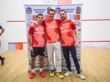 Squash: weer winst voor Coulisse/Twente