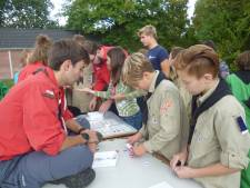 Scouts vinden elkaar tijdens Scouting Challenge Meierijstad