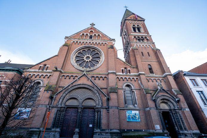 De Heilig Hartkerk in de Adegemstraat.