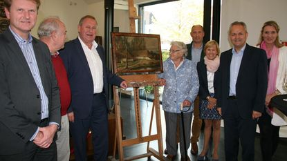 Gemeente krijgt bijzonder schilderij hoeve Van Paesschen