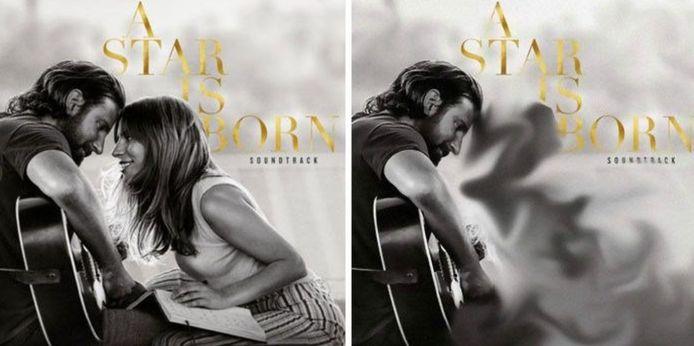"Lady Gaga a disparu de la pochette iranienne de la bande-originale de ""A Star Is Born"""
