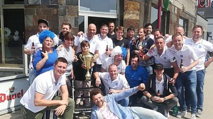 Voetbalclub Fazantenhof wint beker in hoogste provinciale VLVB-reeks