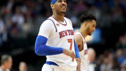 NBA: Portland gooit reddingsboei naar Carmelo Anthony - Porzingis verliest met Dallas bij terugkeer naar New York
