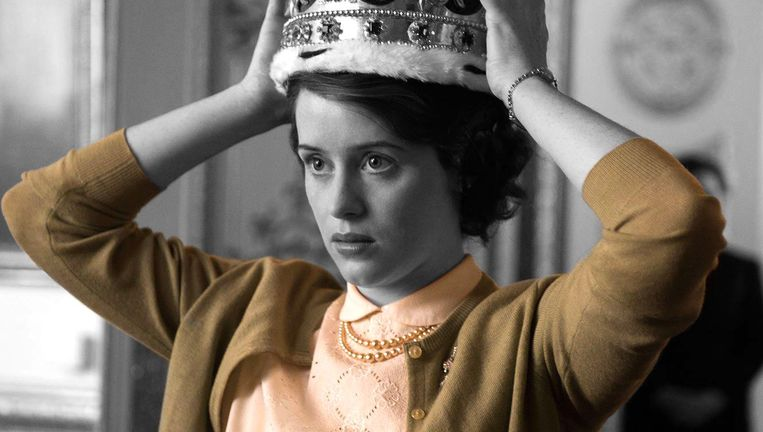 Claire Foy in The Crown. Beeld Netflix