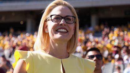 Democraten winnen dan toch in Arizona: Kyrsten Sinema eerste vrouwelijke senator van traditioneel Republikeinse staat