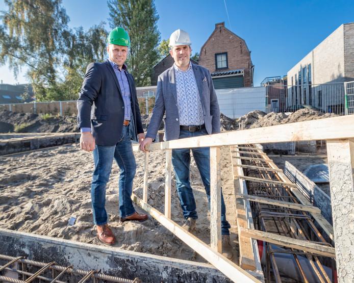 """Peter van den Dool (links) en Ralph Segers: ,,Niet nu doen wat morgen wordt gevraagd, want dan loop je overmorgen alweer achter."""""""