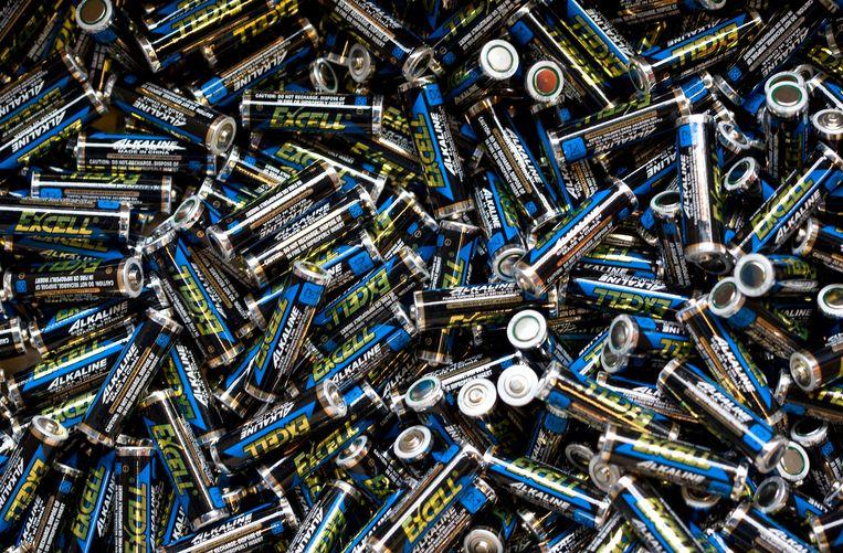 gebruikte batterijen Beeld anp