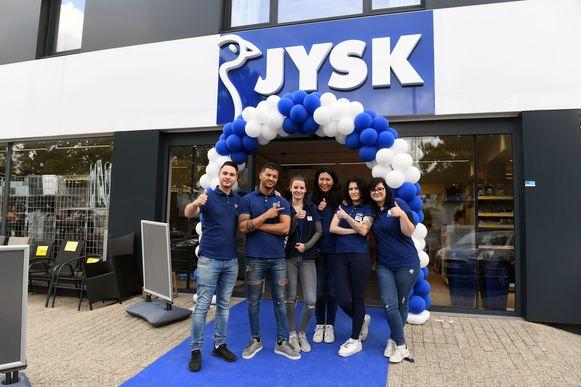Nieuw op de Tiensesteenweg in Korbeek-Lo, de Scandinavische interieurwinkel JYSK.